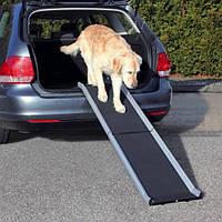Пандус для собаки,алюминий, 38 х 155 см, 6.3 кг, черный