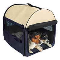 Переноска для собак Kennel размер M-L, 70 х 75 х 95 см, нейлон
