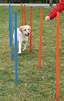 Набор для собак аджилити Trixie Slalom 115 х 3.3 см, 12 шт