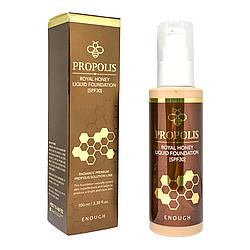 Тональний крем з екстрактом меду Enough Propolis Royal Honey Liquid foundation spf30 №13