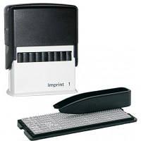 Самонаборный штамп Trodat серия Imprint, 4 строчный+2 кассы знаков 6003,6004 (8952I/4/U)