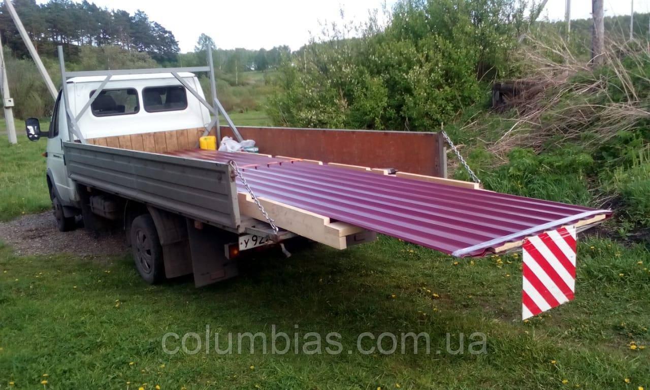 Акція профнастил з безкоштовною доставкою в Україну понад 100 м2
