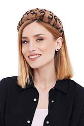 Стильний обруч обідок з еко хутра для волосся my scarf