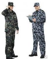 Пошив охранной форменной одежды, униформы оптом для военных, комуфляж