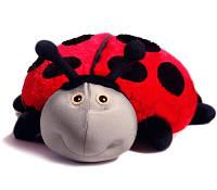 Подушка с покрывалом детская Божья коровка Лилли