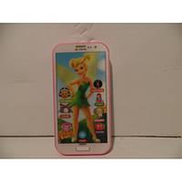 Музыкальная игрушка телефон Девушка, детский смартфон для девочек, интерактивный телефон игрушка