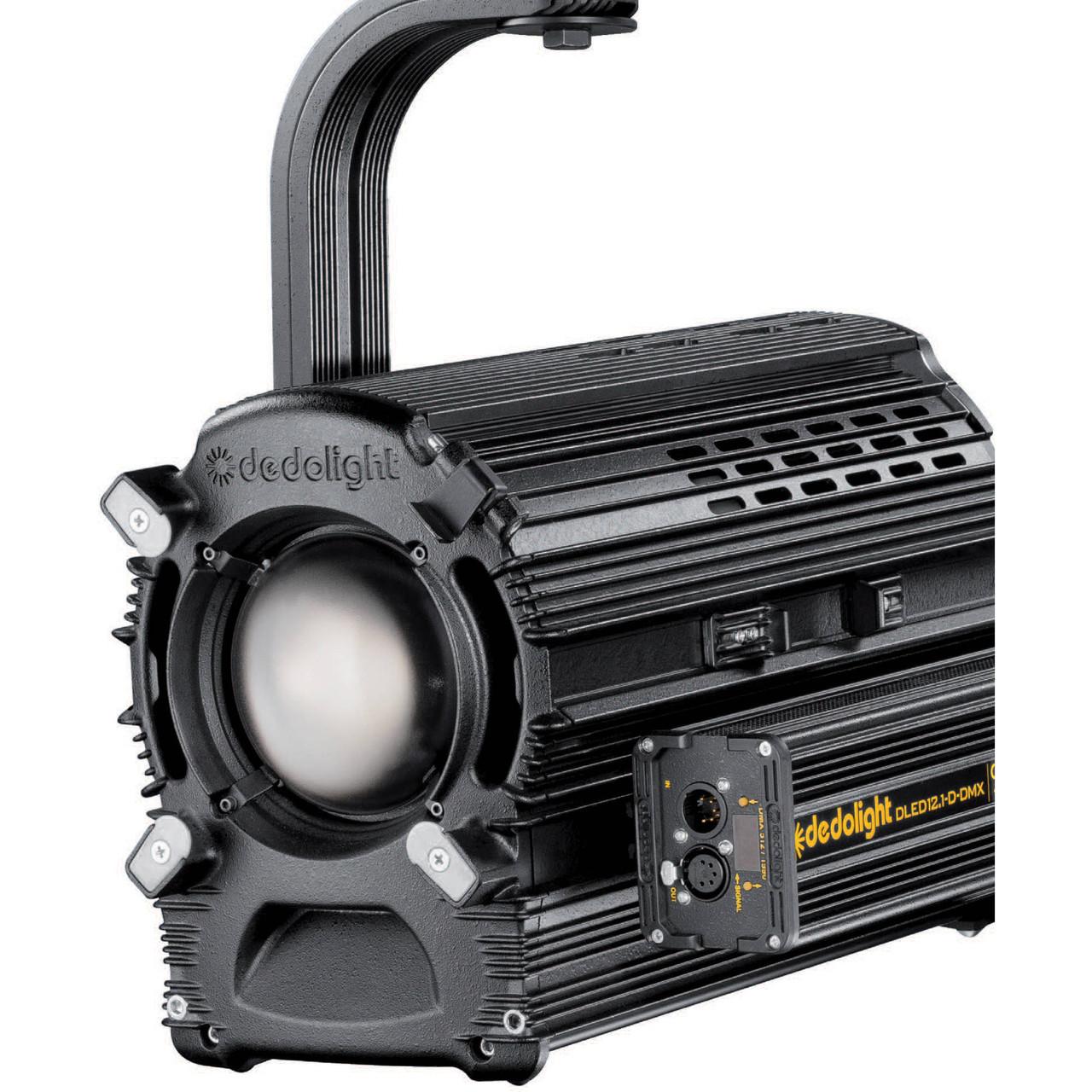 Dedolight DLED12.1-T-DMX Tungsten LED Light Head (DLED12-T-DMX)