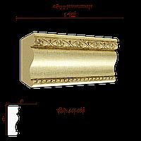 Карниз с орнаментом декоративный