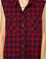 Рубашка безрукавка, рубашка без рукав, безрукавка, мужская или женская