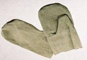 Рукавицы с брезентовым наладонником – c 2 наладонниками ОС