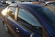 Вітровики Peugeot 206 Sd 2005/Hb 5d 1998 Cobra Tuning