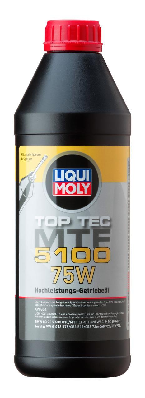 Минеральное трансмиссионное масло Liqui Moly Top Tec MTF 5100 75W 1л