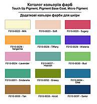 "Краска для подошвы, резины, полиуретана, пластика 40 мл.""Dr.Leather"" Powder Blue, фото 2"
