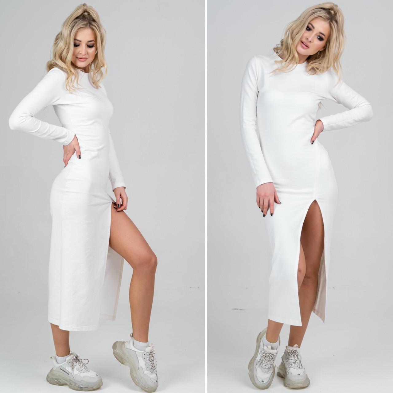 Сукня з вирізом Emily молочний