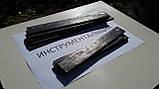 Заготівля для ножа сталь К190-РМ 200-210х30-33х3,9-4,2 мм термообробка (63 HRC), фото 4