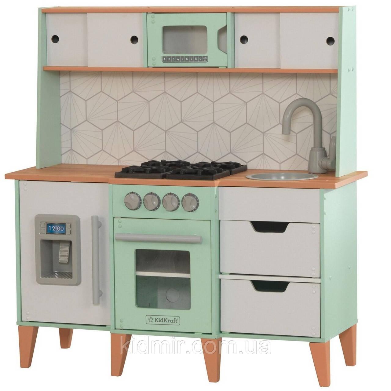 Детская кухня Модерн Mid-Century Modern KidKraft 53432