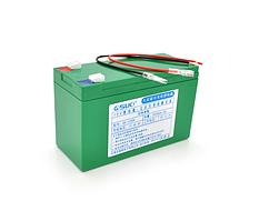 Аккумуляторная батарея литиевая QSuo 12V 8A с элементами Li-ion 18650  (150X64,5X97,7)