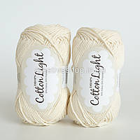 Пряжа DROPS Cotton Light (цвет 01 off white)