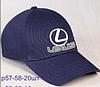 """Мужская бейсболка с авто логотипом """"Lexus"""""""