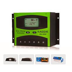 Контроллер заряда солнечной панели Raggie RG-505D, 12V/24V 30A. Оригинальный Solar charge controller