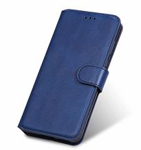 Чехол - книжка для Xiaomi POCO M3 с силиконовым бампером и отделением для карточек Цвет Тёмно-синий