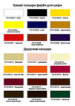 """Фарба для підошви, гуми, поліуретану,пластику 40 мл.""""Dr.Leather"""" Жовтий 2, фото 2"""