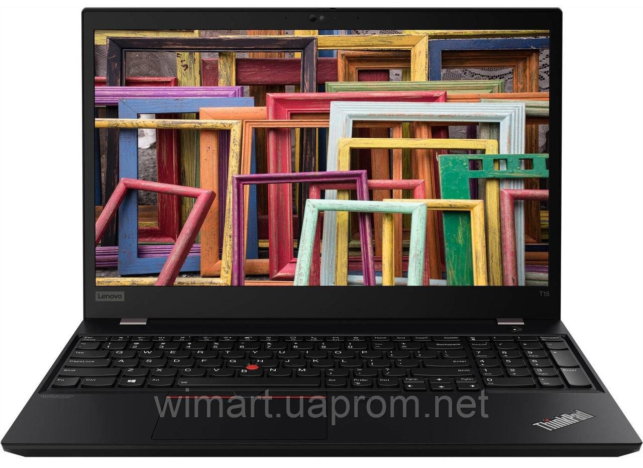Ноутбук Lenovo ThinkPad T15 Gen 1 Black (20S60020RT)