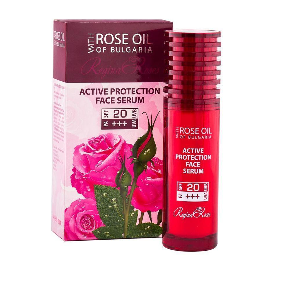 Cиворотка для активного захисту обличчя SPF20 Regina Roses від BioFresh 40 мл