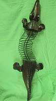 Деревянный Крокодил 100 см