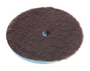 Круг из синтетической шерсти для эксцентриковых полировальных машин 130 мм, фото 2