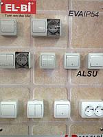 Вимикачі Розетки EL-BI Alsu (білий)