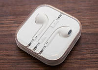 Белые наушники, гарнитура с разъемом 3.5 для Iphone 4, 5, 6