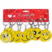 От 24 шт. Брелок Смайл широкая улыбка 2-101 купить оптом в интернет магазине От 24 шт.