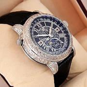 Мужские наручные механические часы Patek Philippe Grand Complications 6002 Sky Moon