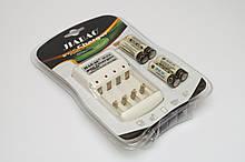 Аккумуляторы Jiabao  AA 4 шт и зарядное устройство Jiabao JB-212 hubnp20507, КОД: 666795