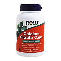 Цитрат кальция плюс Now Foods 120 гелевых капсул NF1235, КОД: 1826878