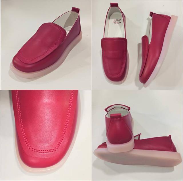 Стильные женские красные туфли, Dino Vittorio фото