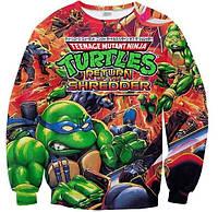 "Свитшот с рисунком 3D ""Черепашки-ниндзя (Teenage Mutant Ninja Turtles)"""