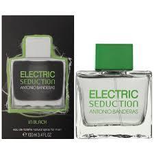 Оригінальні Парфуми чоловічі Antonio Banderas Electric Seduction In Black For Men
