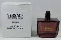 Оригінальний Тестер без кришечки Оригінальні жіночі Парфуми Versace Crystal Noir без кришечки (Версаче Чорний, фото 5
