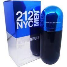 Оригінальні чоловічі Парфуми Carolina Herrera 212 NYC Men Pills ( Кароліна Еррера 212 Мен Пілс)