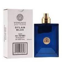 Оригинальный Тестер без крышечки Оригинальные Духи мужские Versace Pour Homme Dylan Blue( Версаче Пьюр Хоум, фото 5