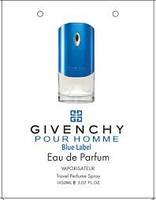 Оригінальні Парфуми чоловічі Givenchy Blue Label (Живанши блю лейбл), фото 3