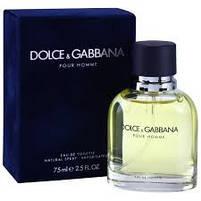 Оригинальные Духи мужские D&G pour homme (Дольче энд Габана пьюр Хоум), фото 4