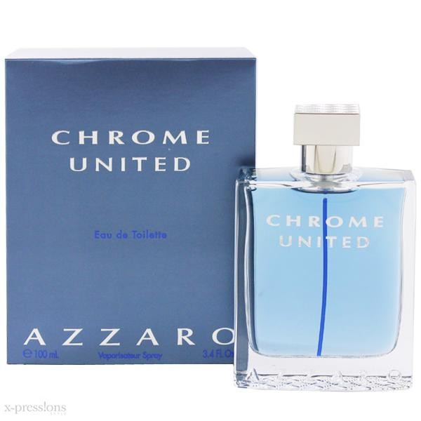 Оригинальные Духи мужские Azzaro Chrome United (Азарро Хром Юнайтед)