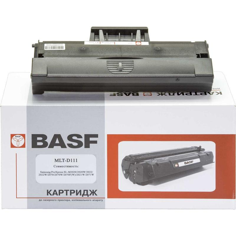 Картридж BASF (BASF-KT-MLTD111S) Samsung SL-M2020/2070/2070FW Black (аналог MLT-D111S)