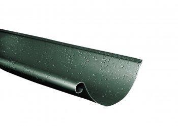 Желоб металлический RUNA  4м 125мм Ринва металева RUNA Зеленый