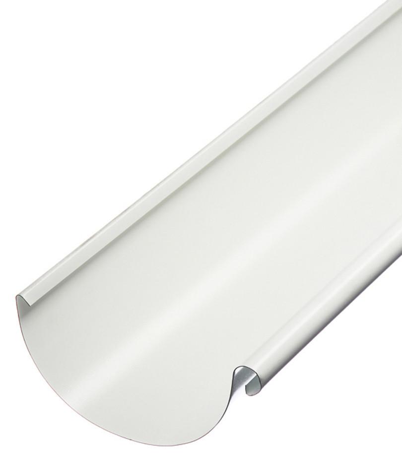 Желоб металлический RUNA  4м 125мм Ринва металева RUNA Белый