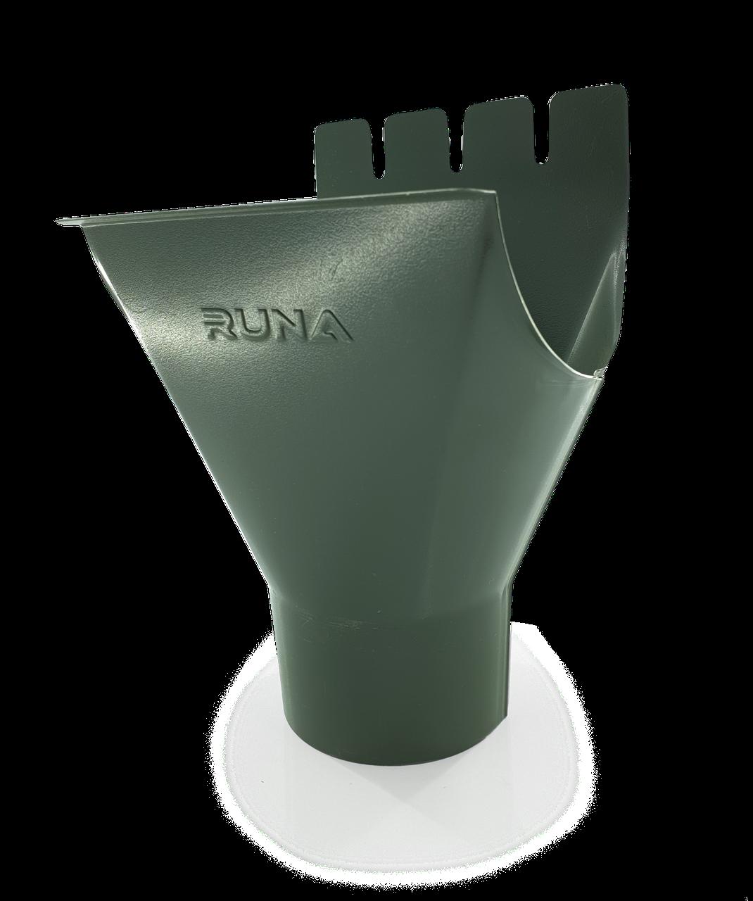 Воронка водосточная металлическая RUNA 125/90мм Воронка (лійка) металева RUNA