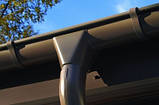 Соединитель желоба металлический RUNA 125/90мм З'єднувач ринви металевий RUNA, фото 6